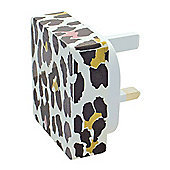 MiTEC Style iPhone 5 2 in 1 Mains Charger Leopard 2A