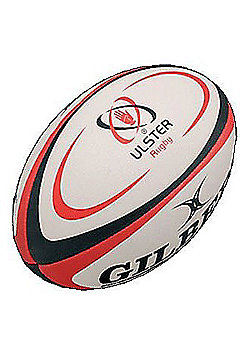 Mini Ulster Rugby Ball - White