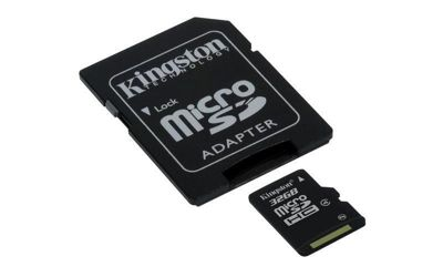 Kingston 32GB Class 4 MicroSDHC Memory Card Full Size SD Adapter Included
