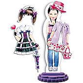 Quercetti Fashion Design Magnetic Doll Lisbeth