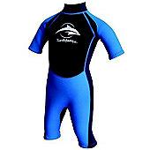 Konfidence Boys Shorty Wetsuits Navy Blue - Blue