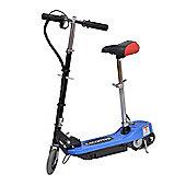Homcom Electric E Scooter Ride on Battery 24V Kids Toy Blue