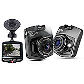 """Aquarius Full HD Car Camera with 2.4"""" LCD Screen & 120° high-resolution wide-angle lens - Space Grey - R161192"""