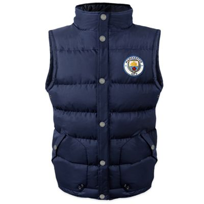 Manchester City FC Boys Gilet 6-7 Years