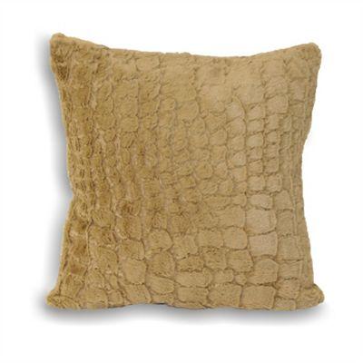 Riva Home Alligator Taupe Cushion Cover - 45x45cm