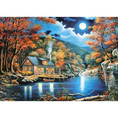 Cabin by the Lake - 2000pc Puzzle