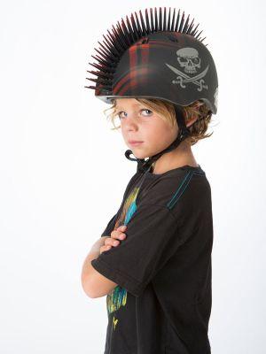 Krash Plaid Jolly Roger Safety Helmet