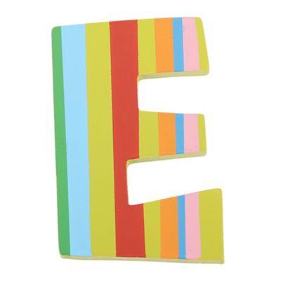 Tatiri Spots & Stripes Letter E (Stripes)