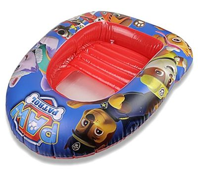 Paw Patrol Blue & Red Inflatable Childrens Boat Swimming Pool Beach Toy 102x69cm