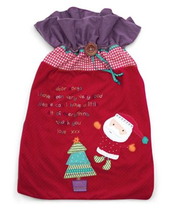 Mamas & Papas - Supersize Santa Toy Sack