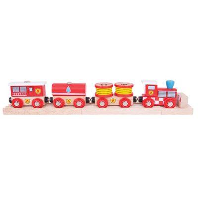 Bigjigs Rail Fire and Rescue Train