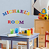 Kids Wall Stickers, Children's Wall Stickers - Colourful Alphabet