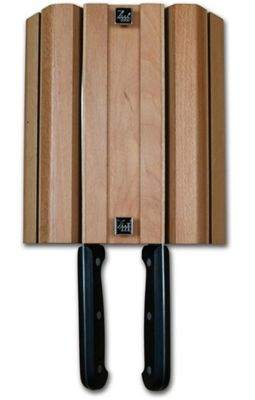 Grunwerg Wall Mounted Magnetic Knife Block, 4 Slot WMB-04