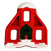 LOOK Delta Bi-Material Red Cleat w/ 9° Float