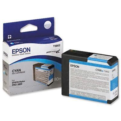 Epson Singlepack Cyan T580200