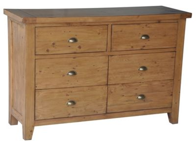 Wiseaction Capri 6 Drawer Wide Chest