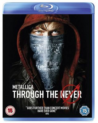 Metallica Through The Never - 3D Blu-Ray