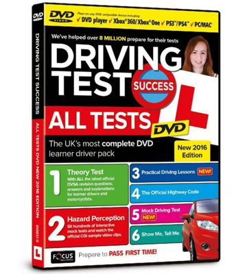 DRIVING TEST ALL TESTS 2016