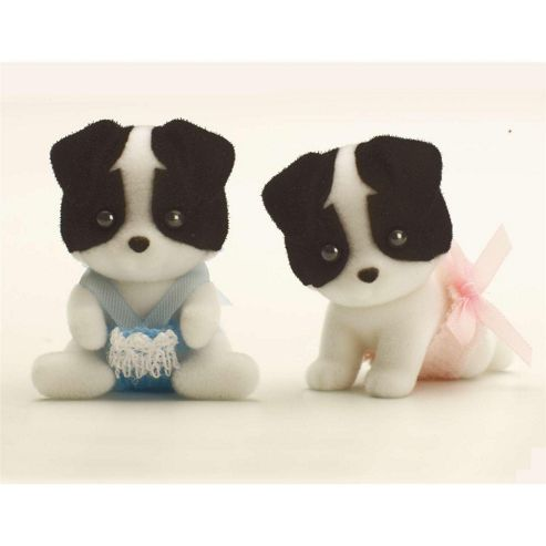 Sylvanian Families Border Collie Twin Babies