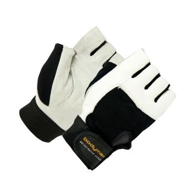 Bodymax Suede Weight Lifting Gloves - Medium (M)