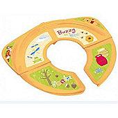 Disney Winnie the Pooh Travel Folding Toddler Training Seat - Yellow