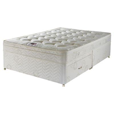 Airsprung Single Divan Bed, Hatton Cushiontop, Non-Storage