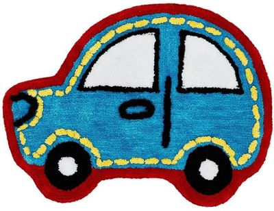 Catherine Lansfield Car Childrens Rug
