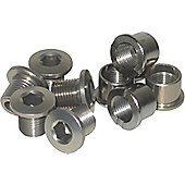 Stronglight Chainring Bolts: Impact Triple. Set of 10 Bolts, Including Inner Ring