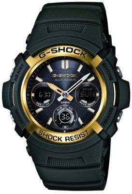 Casio Computer AWGM100A/3A G-Shock Watch with Analogue Dial Black