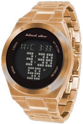 Black Dice Slick Alarm Chronograph Bracelet Watch BD-061-04