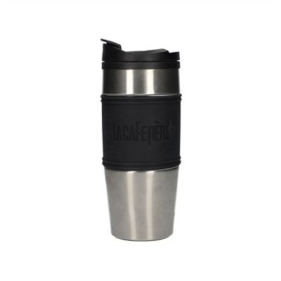 La Cafetiere Stainless Steel Travel Thermos Flask Mug 450ml