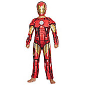 Marvel Iron Man Light-Up Fancy Dress Costume - Red