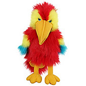 The Puppet Company CarPets- Baby Scarlet Macaw Glove Puppet