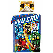 Lego Ninjago Wu Cru Single Duvet Cover and Pillowcase Set