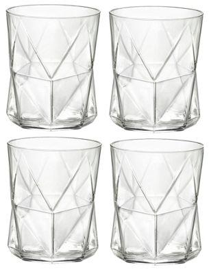 Bormioli Rocco Cassiopea Tumblers Glasses - 410ml - 13.75oz - Set of 4