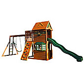Selwood Arlington Deluxe Climbing Frame - Swings & Slide