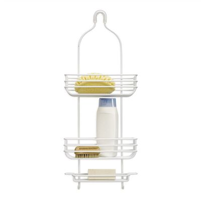 Design Ideas Cooper Hanging Shower Organiser in White