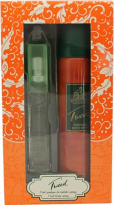 Taylor of London Tweed Gift Set 12ml PDT + 75ml Body Spray For Women