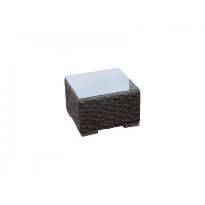 Small Square Side Table in Truffle (45 x 45)