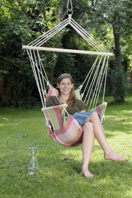 Amazonas Palau Hanging Chair in Bubblegum