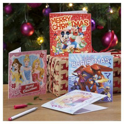disney christmas cards 30 pack