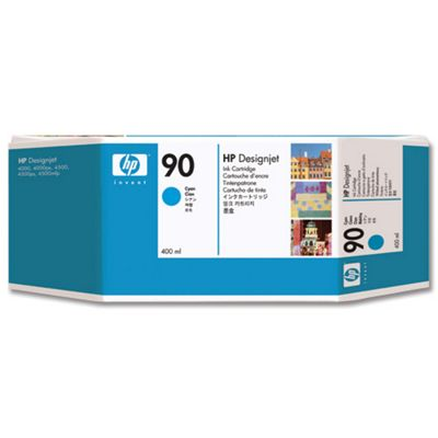HP 90 Ink Cartridge - Cyan