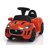 Licensed Jaguar Electric Ride on Car 6V with Parental Remote Red