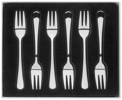 Judge Stainless Steel Windsor Cake Forks Set of 6