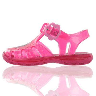Peppa Pig Fuchsia Pink Jelly Sandals UK 3 Infant