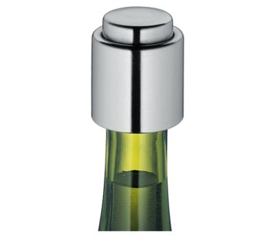 Cilio Stainless Steel Wine Bottle Stopper