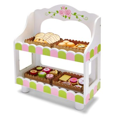 Molly Dolly Deluxe Wooden Bakery Stall Set
