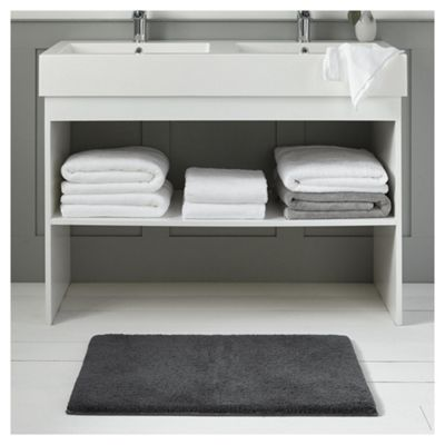 Fox & Ivy Supremely Soft Charcoal Bath Mat