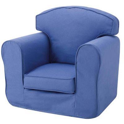 Children's Single Sofa Chair - Blue