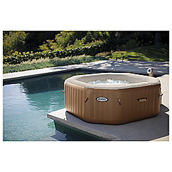Intex Purespa 4 person Bubble Octagonal Hot Tub Spa